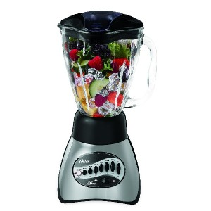 オスター ブレンダー Oster 6812-001 Core 16-Speed Blender with Glass Jar, Black 並行輸入品