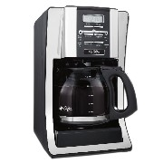 Mr. Coffee コーヒーメーカー 12-Cup Programmable Coffeemaker Chrome