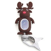Swiff / A7 Reindeer Carton Tuner Brown Clip On Tuner クリップ チューナー トナカイくん