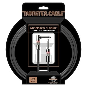 Monster Cable CLAS-I-21A Classic Seriers楽器用ケーブル/ プラグ S-L/ケーブル長:約6.4m