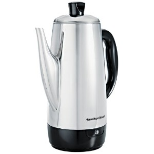 Hamilton Beach ハミルトンビーチ パーコレーター Stainless-Steel 12-Cup Electric Percolator 【並行輸入品】