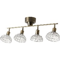 MARCO-D 4 BULB CEILING LAMP 【電球付き / クリア】