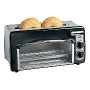 ハミルトンビーチ トースター オーブン Hamilton Beach 22708 Toastation 2-Slice Toaster and Mini Oven, Black