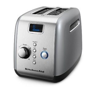 【並行輸入】KitchenAid キッチンエイド 2-Slice Toaster with One-Touch Lift/Lower and Digital Display - Countour...