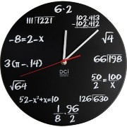 Pop quiz clock by Deco Craft Inc
