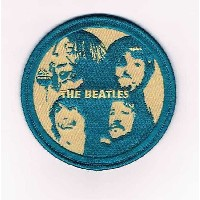 WAPPEN PATCH ワッペン パッチ THE BEATLES CIRCLE GREEN