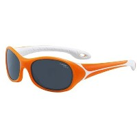 CEBE FLIPPER 3 TO 5 YRS KIDS SUNGLASSES (ORANGE WITH 1500 GREY BLUE LIGHT LENS) (Parallel Imported...