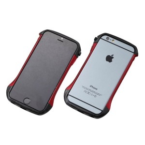 【Deff】アルミ×カーボンバンパーCLEAVE Hybrid Bumper for iPhone 6 / DCB-IP6A6CARD
