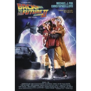 BACK TO THE FUTURE II POSTER (68,5cm x 101,5cm)