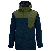 SALOMON(サロモン) スキーウェア SASHAY JACKET M L35260400 BIG BLUE-X/BAYOU GREEN L