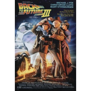 BACK TO THE FUTURE III POSTER (68,5cm x 101,5cm)