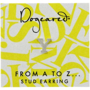 [ドギャード] DOGEARED from a to z earring, SS, little Y V3SSZ00212404