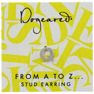 [ドギャード] DOGEARED from a to z earring, SS, little Q V3SSZ00211604