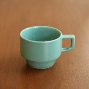 【HASAMI】BLOCK MUG S (GREEN)