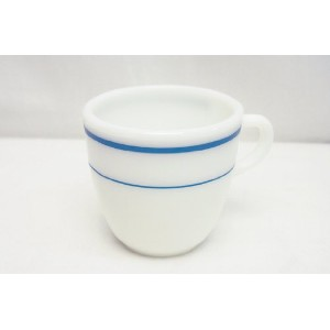 US.NAVY PYREX MUG CUP (WHITE)