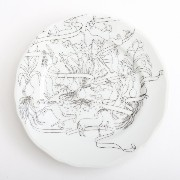 PASS THE BATON Remake Tableware PLATE 17cm