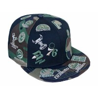 NEW ERA NBA 【SILHOUETTE ALL-OVER/CAMO】 ニューエラ ロゴマン 59FIFTY フィッテッド キャップ FITTED CAP LOGOMAN 迷彩 [帽子 ヘ...