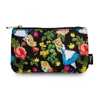 Loungefly x Alice in Wonderland Floral Coin/Cosmetic Bag