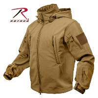 ロスコ Rothco 並行輸入品 メンズ SPECIAL OPS TACTICAL SOFTSHELL JACKET COYOTE M