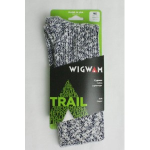 WIGWAM (ウィグワム) Cypress Socks ( WHITE / NAVY ) M size