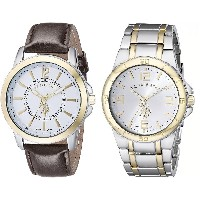 [ユーエスポロアソシエーション] U.S. Polo Assn. Classic 腕時計 Men's Analog Display Analog Quartz Multi-Color Watch...