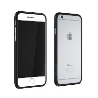 CAZE ThinEdge frame case for iPhone 6/6S - マットブラック - 世界最薄1mmのハードバンパーケース (iPhone 6/6s, Matte Black) ...