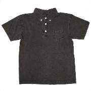 (グッドオン) GOOD ON MENS S/S POLO TEE[PIGMENT BLK]M