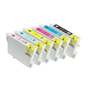 EPSON IC6CL32 エプソン互換 6色セット×1セット ICBK32 ICC32 ICM32 ICY32 ICLC32 ICLM32 PM-A850, PM-A870, PM-A890,...