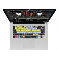 KB Covers Serato Scratch Live QWERTY キーボードカバー MacBook Air & Pro用 17667