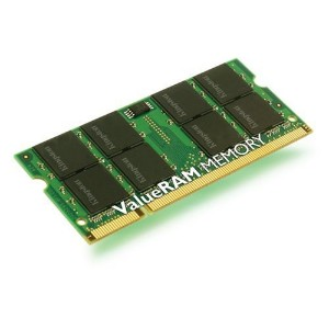 Kingston ノートPC用メモリ PC2-5300 DDR2 SDRAM SO-DIMM 512MB KVR667D2S5/512