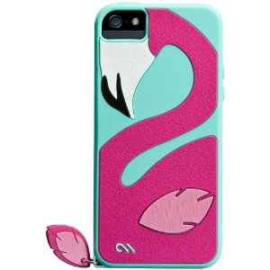 Case-Mate 日本正規品 iPhoneSE / 5s / 5 CREATURES: Pinky Case, Light Blue クリーチャーズ: ピンキー シリコン ケース, ライトブルー...