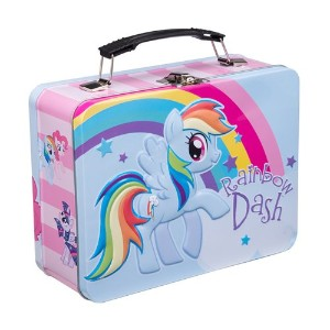 Lunch Box - My Little Pony - Rainbow Dash Large Tin Case Licensed 42170