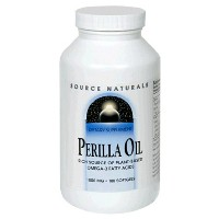 海外直送品 Source Naturals Perilla Oil Softgels, 180 Softgels 1000 mg
