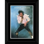 Michael Jackson - Live Framed and Mounted Print - 14.7x10.2cm