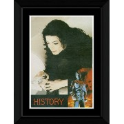 Michael Jackson - History Framed and Mounted Print - 14.7x10.2cm
