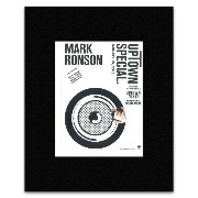 MARK RONSON - Uptown Special 2015 Matted Mini Poster - 28.5x21cm