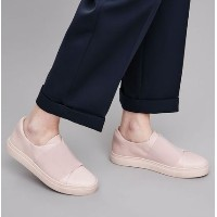 """""""COS""""WRAP-OVER LEATHER SNEAKER PINK COS(コス) バイマ BUYMA"""