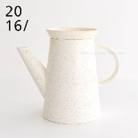 2016/ BIG-GAME Coffee Pot White Sprinkle 有田焼 コーヒーポット ホワイト 白/陶磁器