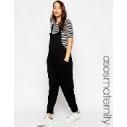 ASOS エイソス Maternity マタニティ Dungaree Jumpsuit In Jersey