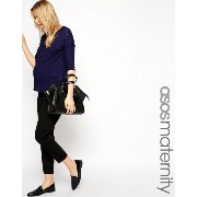 ASOS エイソス Maternity マタニティ Work Wear Ankle Grazer Trouser