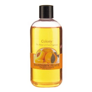 Colony HomeScents Series ディフューザー用リフィル 250ml マンダリンピーチ CNCH2818