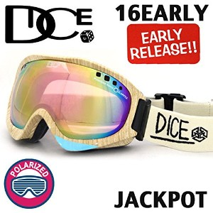 DICE ダイス《16EARLYモデル》◆16JP-1◆JACKPOT / ジャックポット《 WOODY 》Pastel Pink Mirror-drop/pola pink base...
