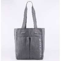 DEAN&DELUCA ディーン&デルーカ トートバッグ グレー アメリカ限定品 IN0521 [並行輸入品]