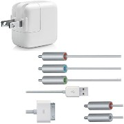 【Apple純正】 アップル 5W USB Power Adapter Model No.A1205 ※Composite AV Cable MB129LL/Aセット商品 1215-2