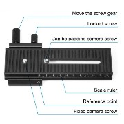 XCSOURCE®2-Way LP01 マクロ フォーカシング レールスライダー 2-Way LP01 Macro Focusing Rail Slider Slide for Nikon...