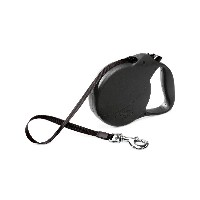 Flexi Usa 860586 26Feet Explore Leash - Black