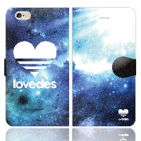 [iPhone6S 6 兼用 手帳型 ケース カバー] LOVEDES ギャラクシー:A