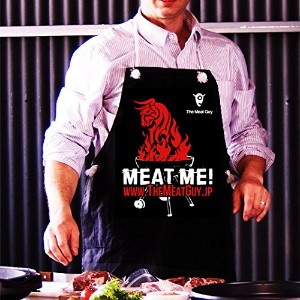 The Meat Guy エプロン - レイジングブルデザイン 【販売元:The Meat Guy(ザ・ミートガイ)】