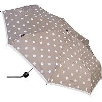 Knirps(クニルプス) T.010 Small Manual 折りたたみ傘 Polka Dot Greige 【正規輸入品】 KNT010-4902