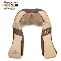 HuePlus ヒュープラス 肩&首 マッサージ器 HPM-200B ベージュ (Shoulder And Neck Massager Beige color) 海外直送品
